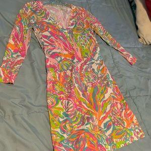 Colorful Lily Pulitzer Longsleeve Mini Dress